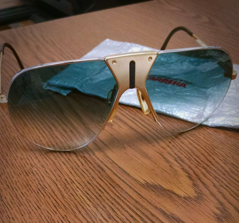 8ff5499b9ac2 boeing carrera 5701 gold sunglasses vintage #80s from $700.0   80's ...