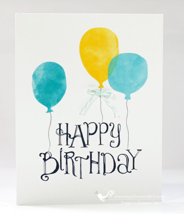 Stampin Up Digital Thank You Card Pinterest Happy Birthday