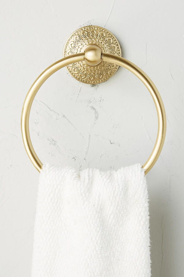 Brass Medallion Toilet Paper Holder Brass Towel Rings Brass Bathroom Fixtures