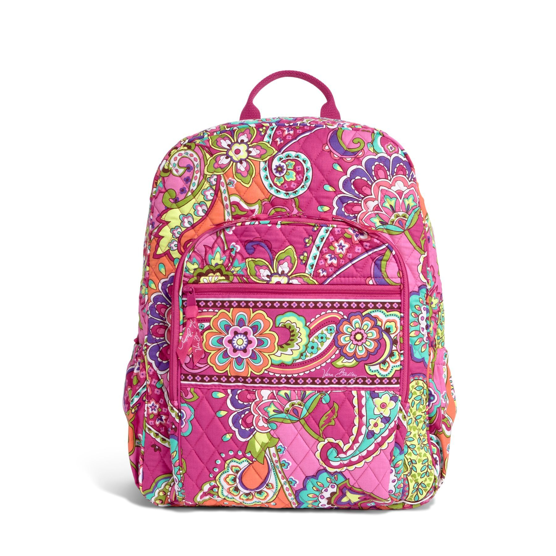 Bags for school on sale - Campus Backpack In Pink Swirls Vera Bradley My New Bag For Our Next Adventure And Then M Can Have It For School If I Don T Use It Much