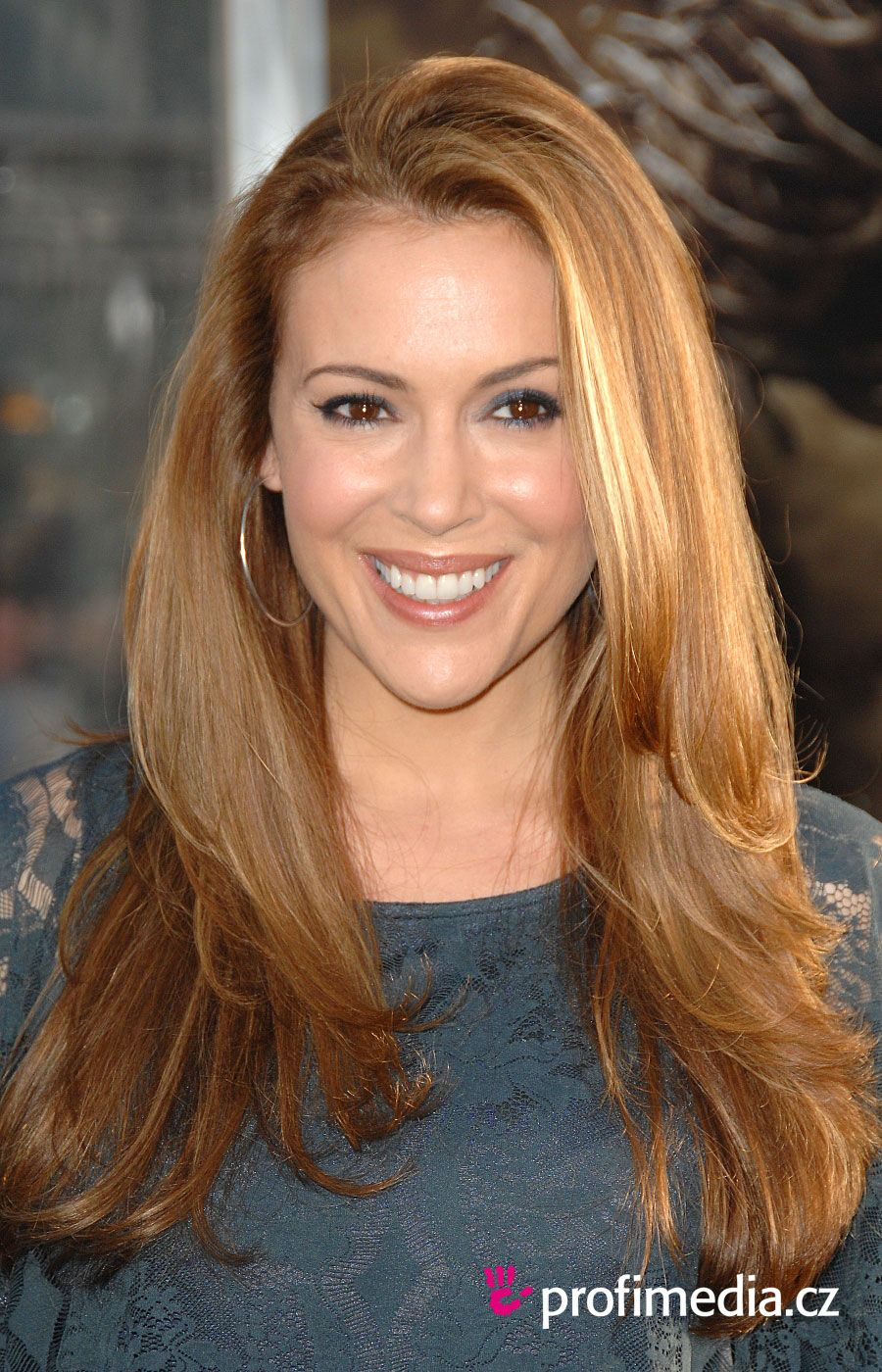Alyssa Milano- I like this hair style | Lovely Locks - Hair Color ...