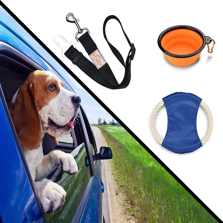 B Comfort Pet Travel Accessories Adjustable Black Car Dog Seat
