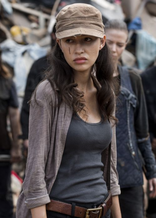 Rosita Espinosa In The Walking Dead Season 7 Episode 10