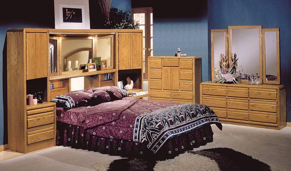 Oak Wall Unit Bedroom Furniture Oak Wall