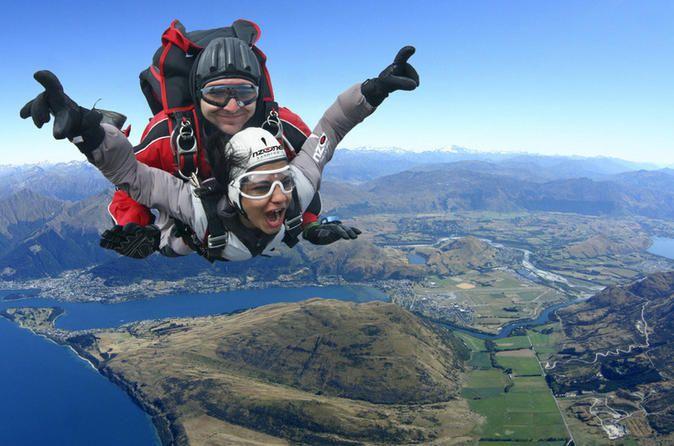 Skydive Queenstown New Zealand Queenstown White Water Rafting Walking In Nature