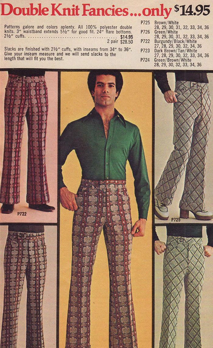 1970s Men S Fashion Ads You Won T Be Able To Unsee Vintage Fashion Clothing Advertisements Mens Fashion