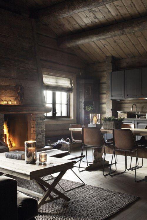 Industrial Modern Cabin Cabin Living Room Cabin Living Cabin