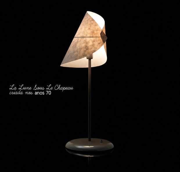 La Lune Sous Le Chapeau - A lovely lamp.