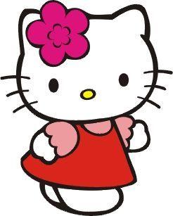 Dibujos hello kitty para imprimir  monitos  Pinterest  Hello