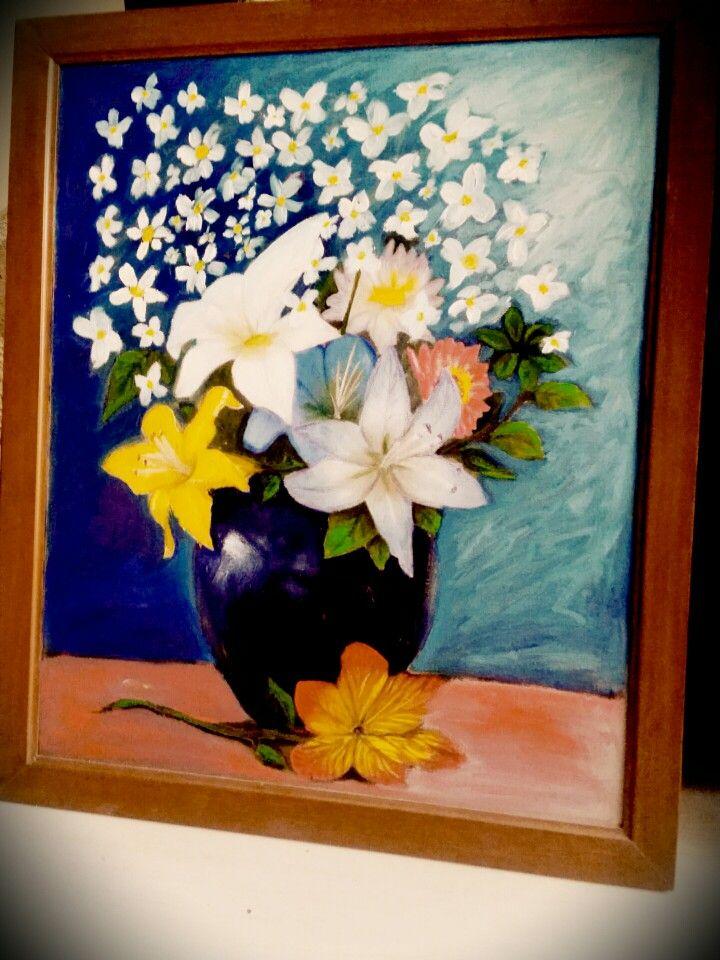 Flores del jarrón