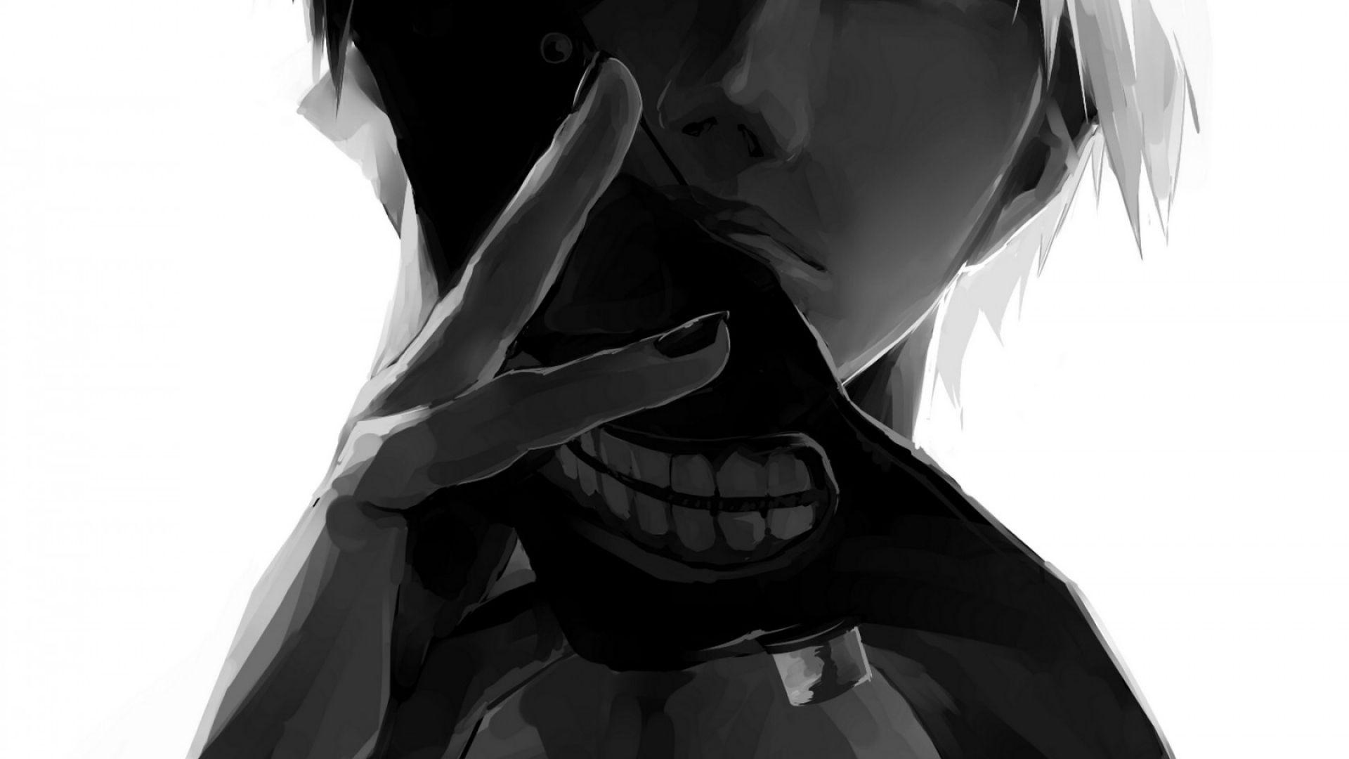Download Wallpaper 1920x1080 Tokyo Ghoul Kaneki Ken Man Mask Full