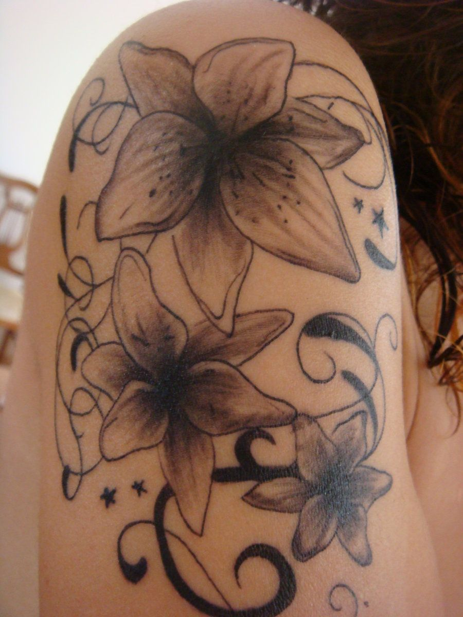 I Really Like These Lilies Body Art Tattoos Cool Tattoos Lily