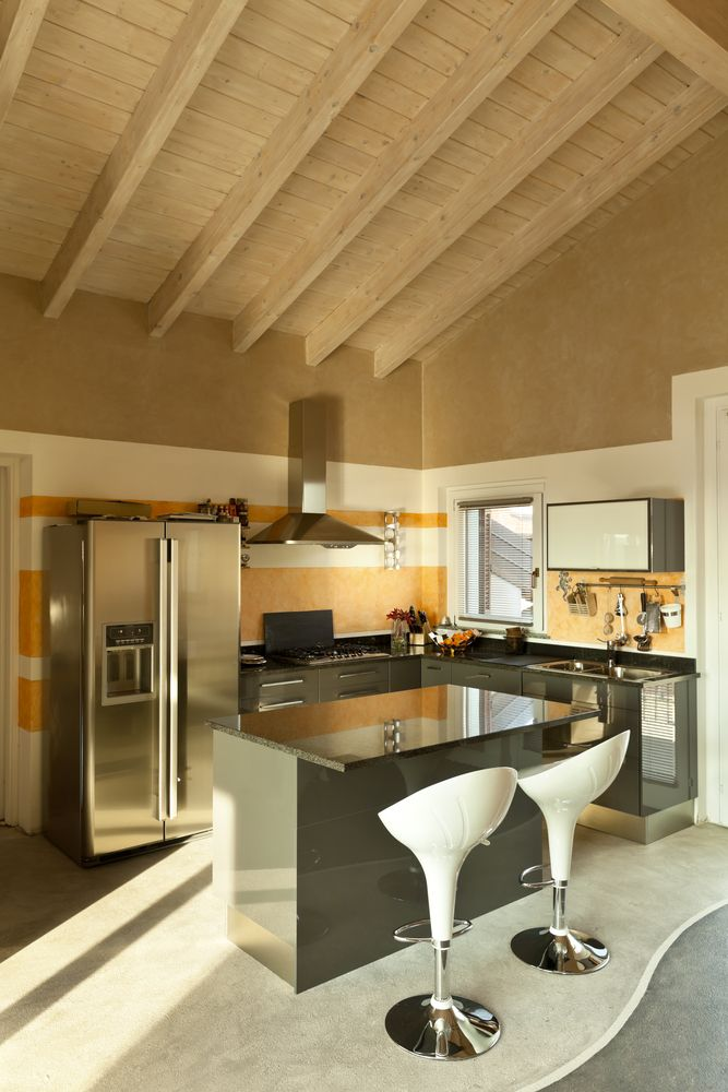 100 Small Kitchen Ideas For 2018  Small Corner Living Spaces And Custom Open Living Kitchen Design Review