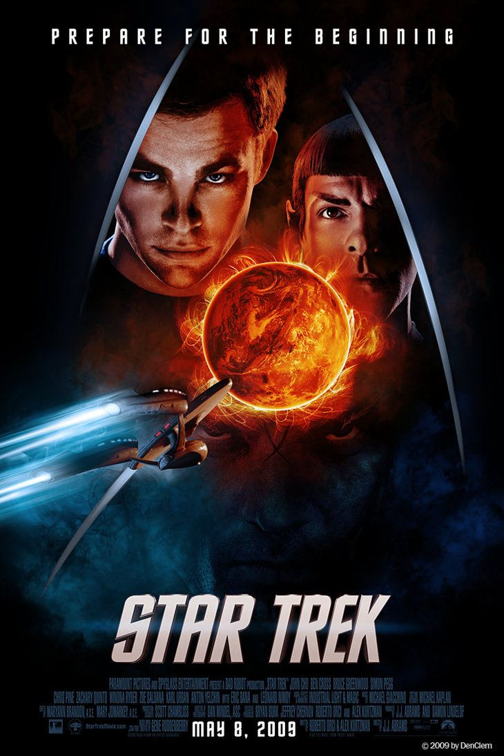 Download Star Trek (2009) movie in {Hindi-English} 480p [300MB]