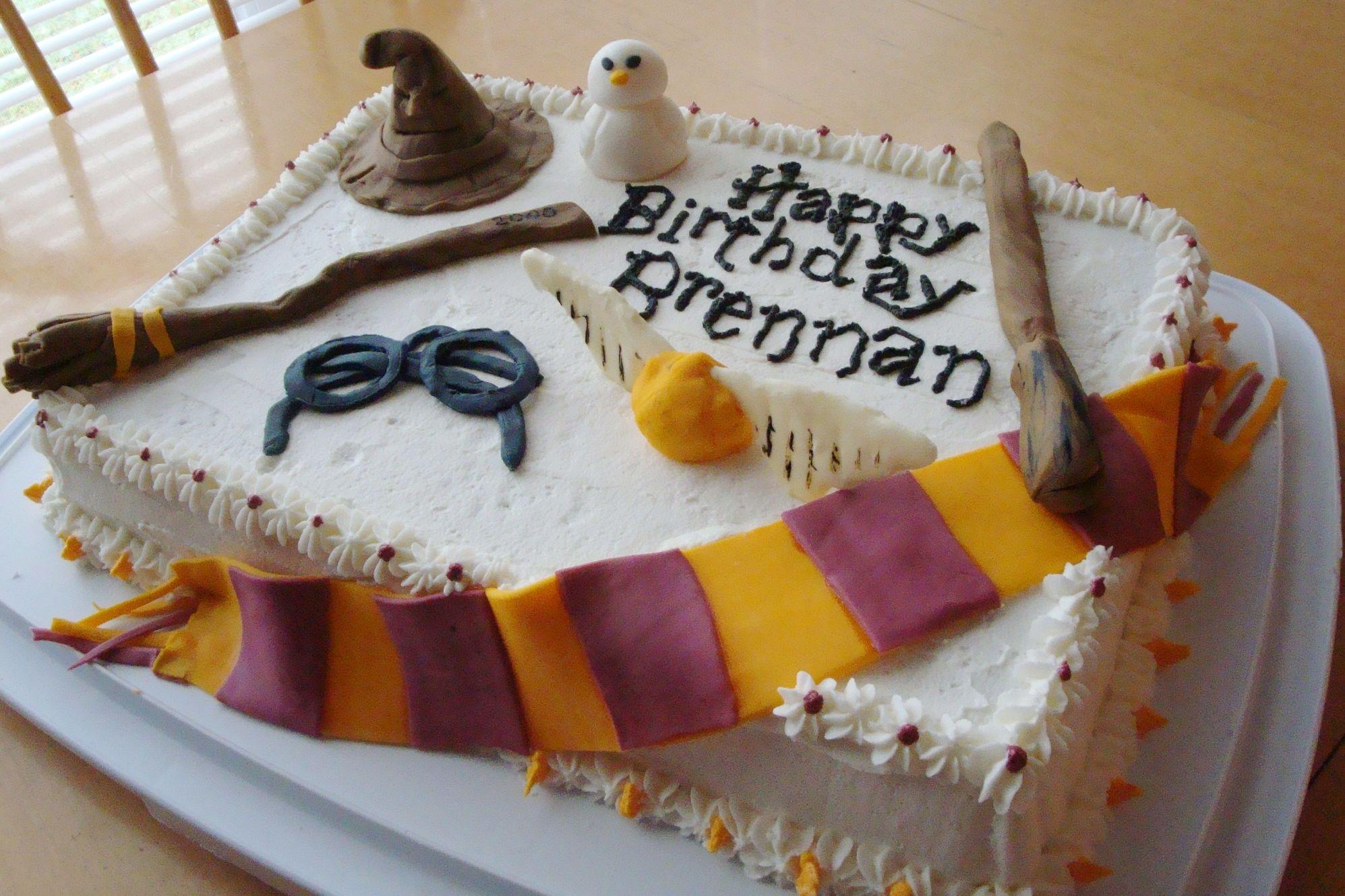 Harry Potter Food cake Cakes by Lori Crocker Birthday Cakes
