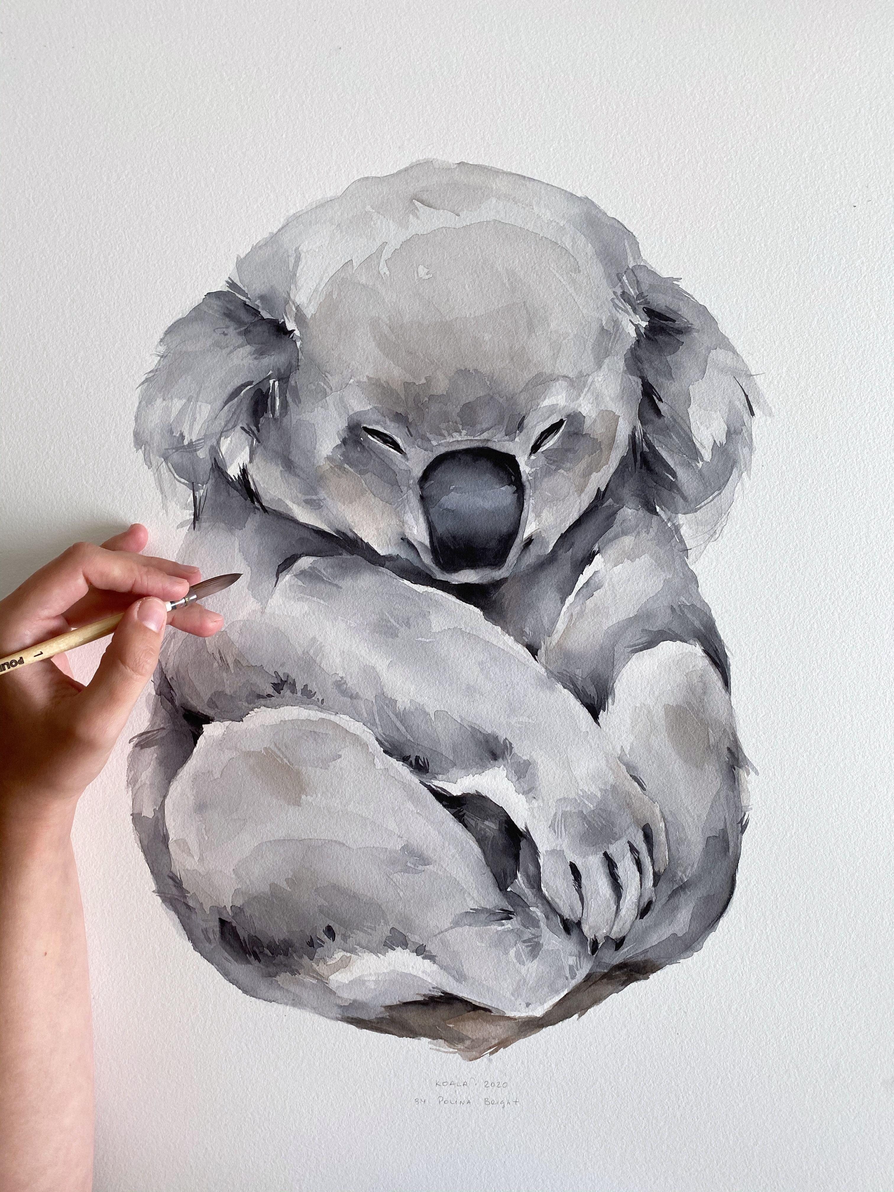 Koala 🐨 by Polina Bright