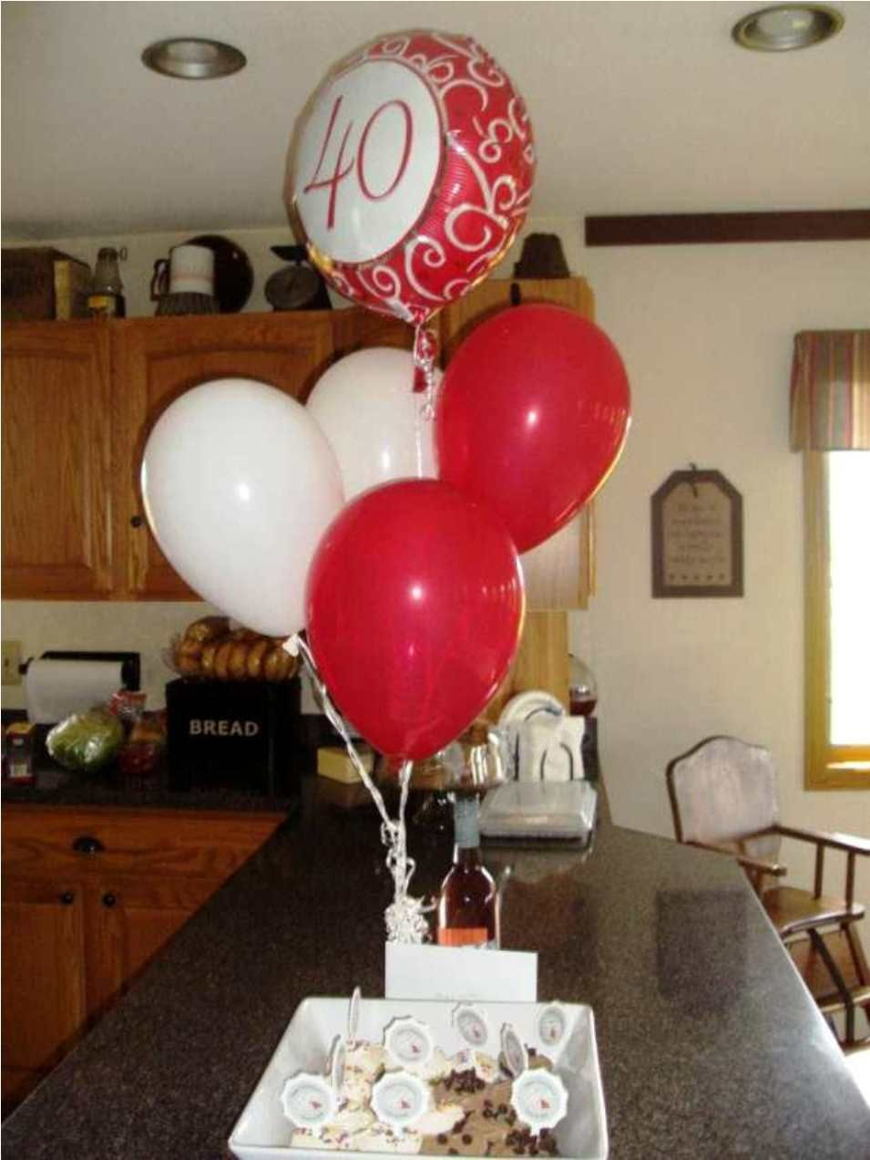 Room decoration ideas for anniversary - 40th Birthday Centerpieces Homemade Decorations Ideas Room Design Anniversary 40th Birthday Homemade
