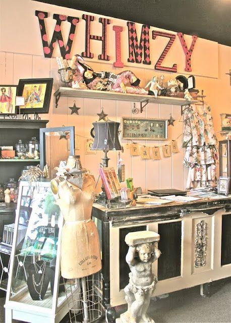 Favorite Stores Vintage Display Pottery Shop Store Displays