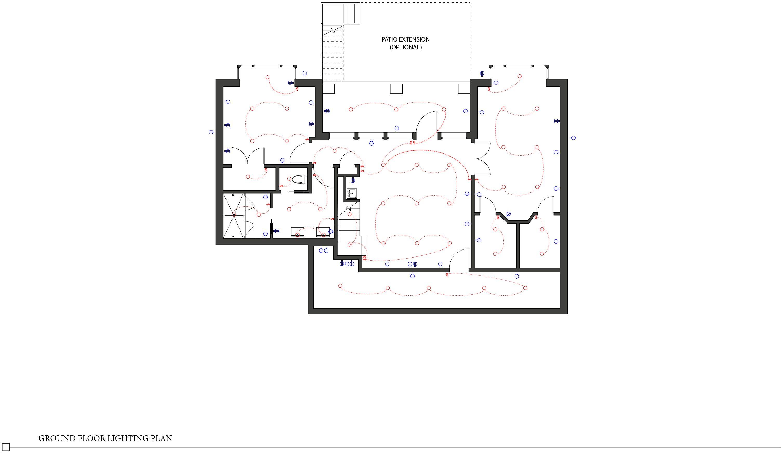 Basement Lighting Plan