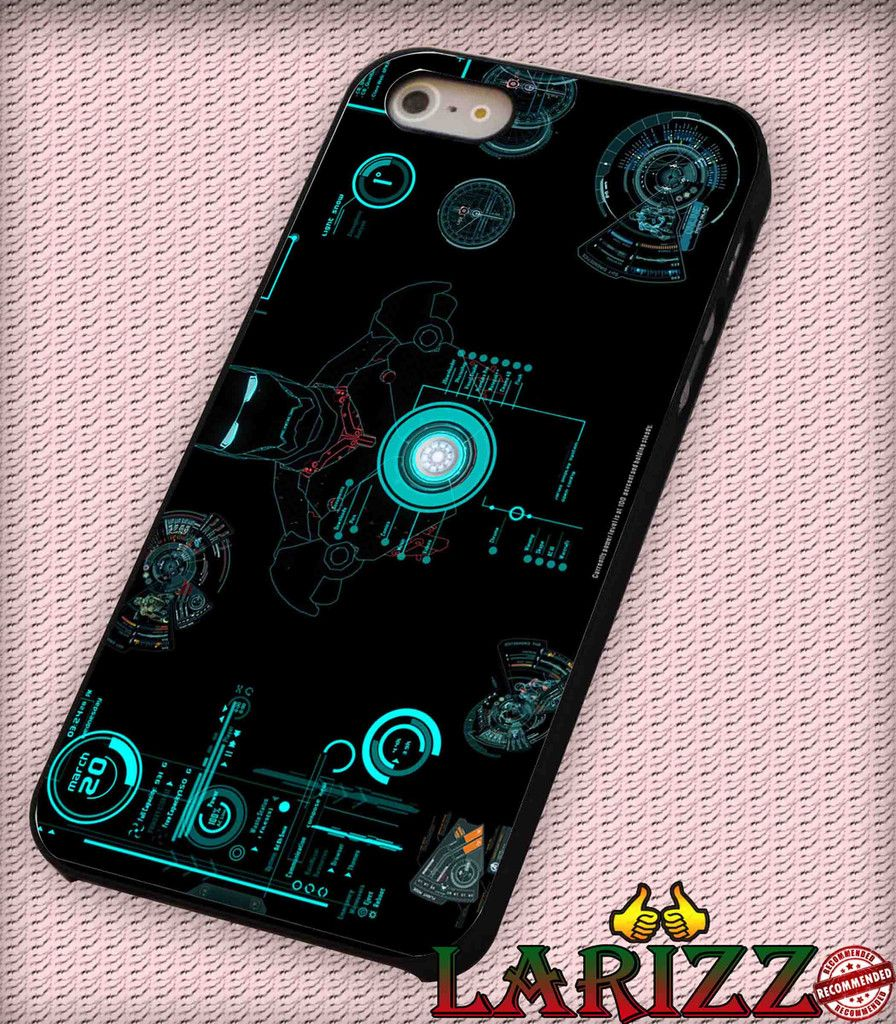 """iron man for iPhone 4/4s, iPhone 5/5S/5C/6/6 , Samsung S3/S4/S5 Case """"005"""""""