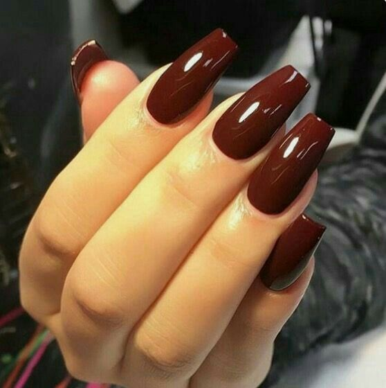 100 Top trendy beautiful nail polish ideas and color | Goth in 2019 ...