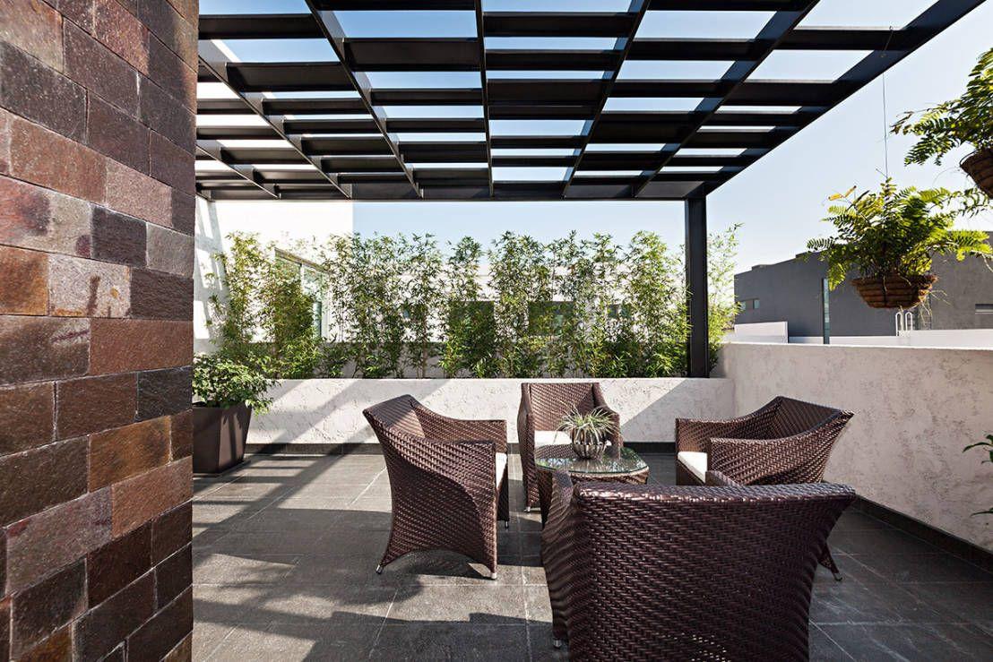 Pisos para exteriores 10 ideas para patios y terrazas - Diseno de porches y terrazas ...