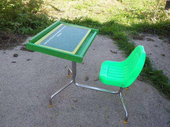 Playskool Desk Children S Vintage By Oldsteamertrunkjunk