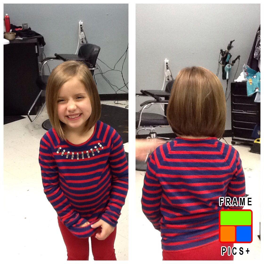 Little Girl Short Layered Cut Hair Hair Cuts Little Girl