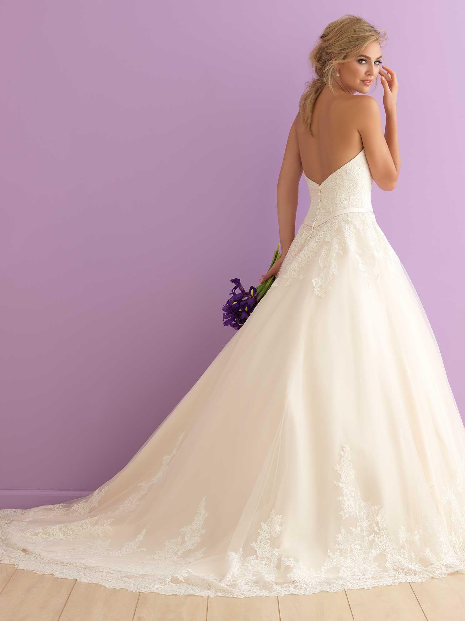 Allure Bridals: Style: 2902 | ALLURE R O M A N C E | Pinterest ...