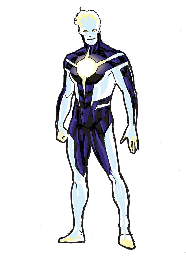 Superhero Character Design Ideas : The ray costume concept art by jamaligle on deviantart