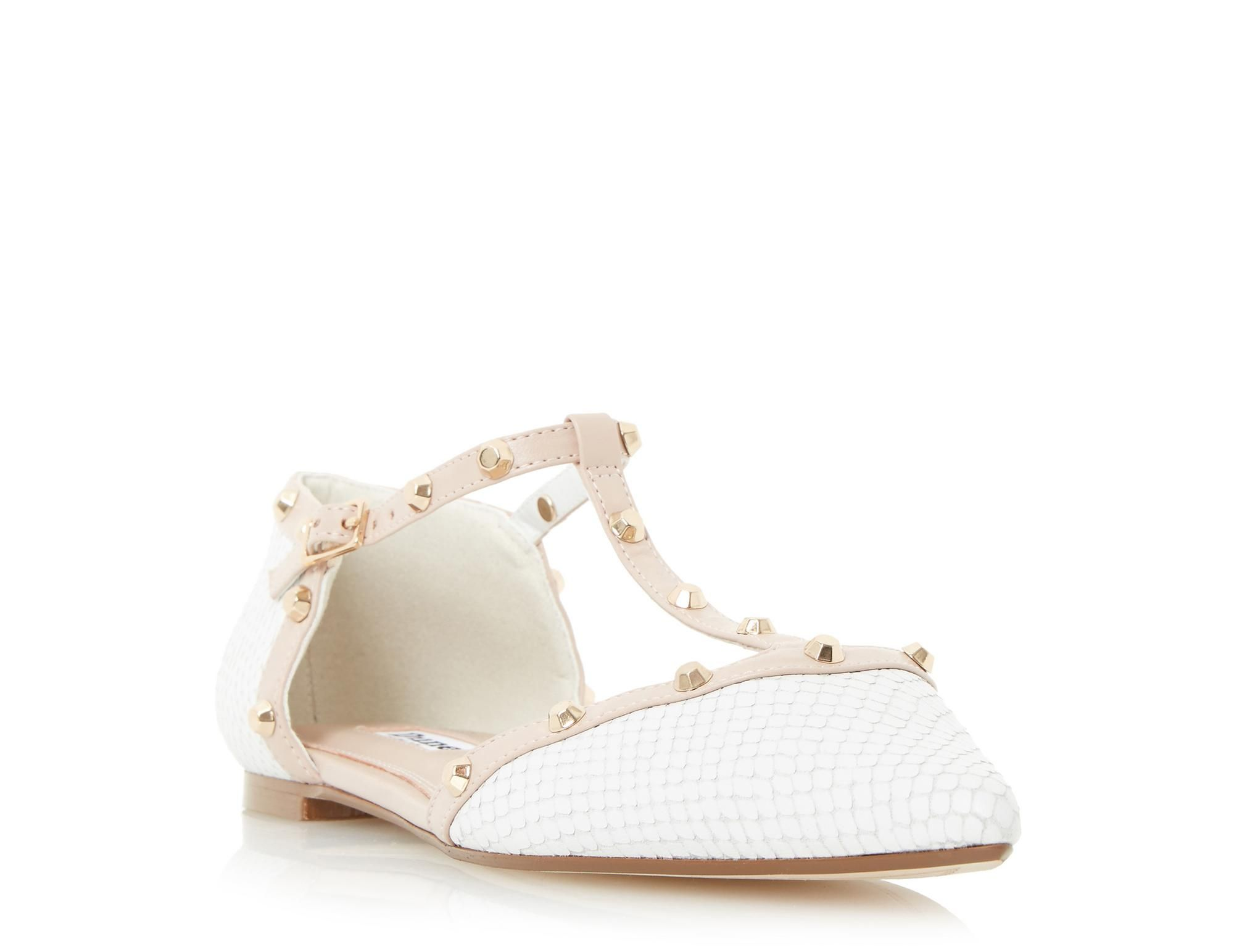 478febb523 Sport some easy everyday style with this chic pointed toe flat shoe.  Features a two
