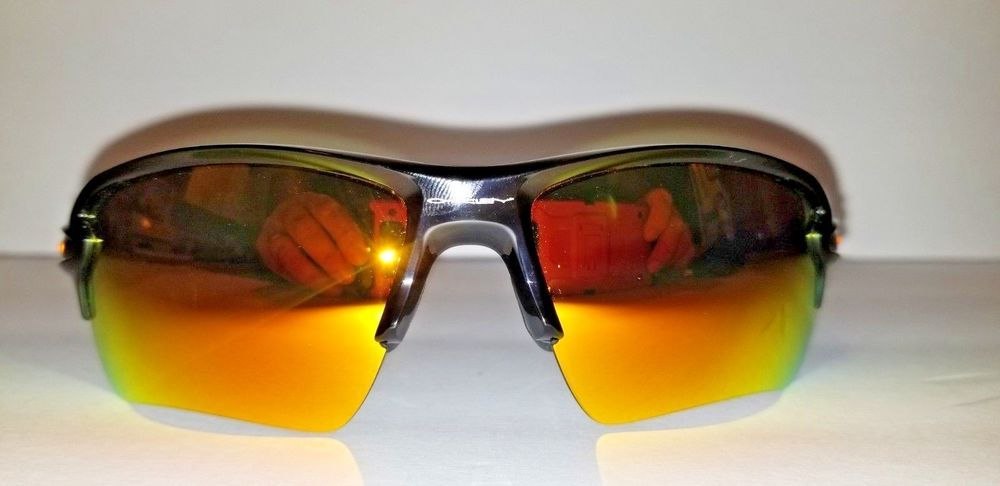 New Oakley Flak 2 0 Team Colors Sunglasses Polished Black W Fire Iridium Fashion Clothing Shoes Acces With Images Colored Sunglasses Sunglasses Sunglasses Accessories