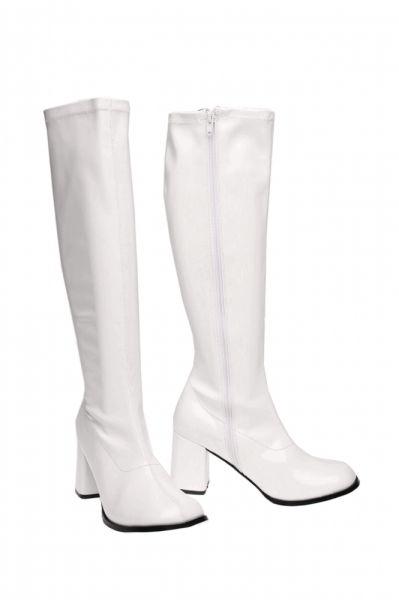 daee0d09dcd Vita stövlar 60-tal - BröllopsGuiden | Skor | Knee boots, Shoes y ...