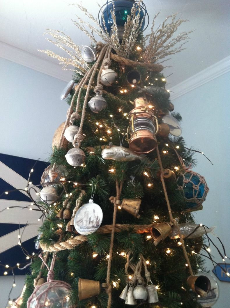 How To Guide Coastal Christmas Tree Decoration With Images