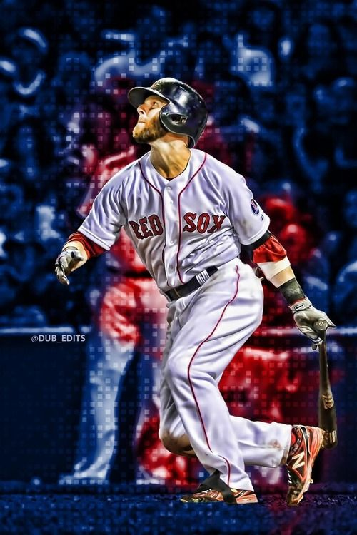 Red Painting Boston Sox