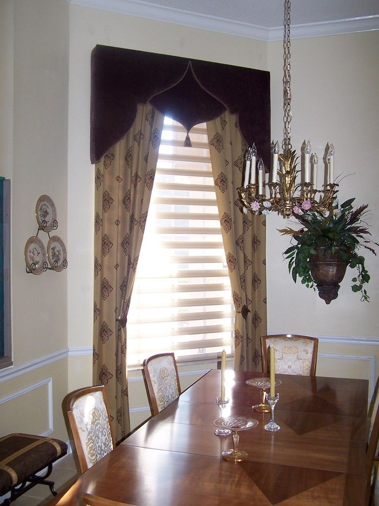 cornice-board-designs-Dining-Room-Traditional-with-antique ...