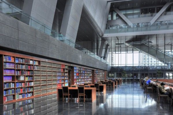 Architizer Blog » Top 10: Mind Blowing Libraries; National Library Of China  (