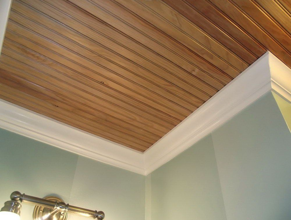 Knotty Pine Tongue Groove Ceiling Home Design Idea Wood Planks For