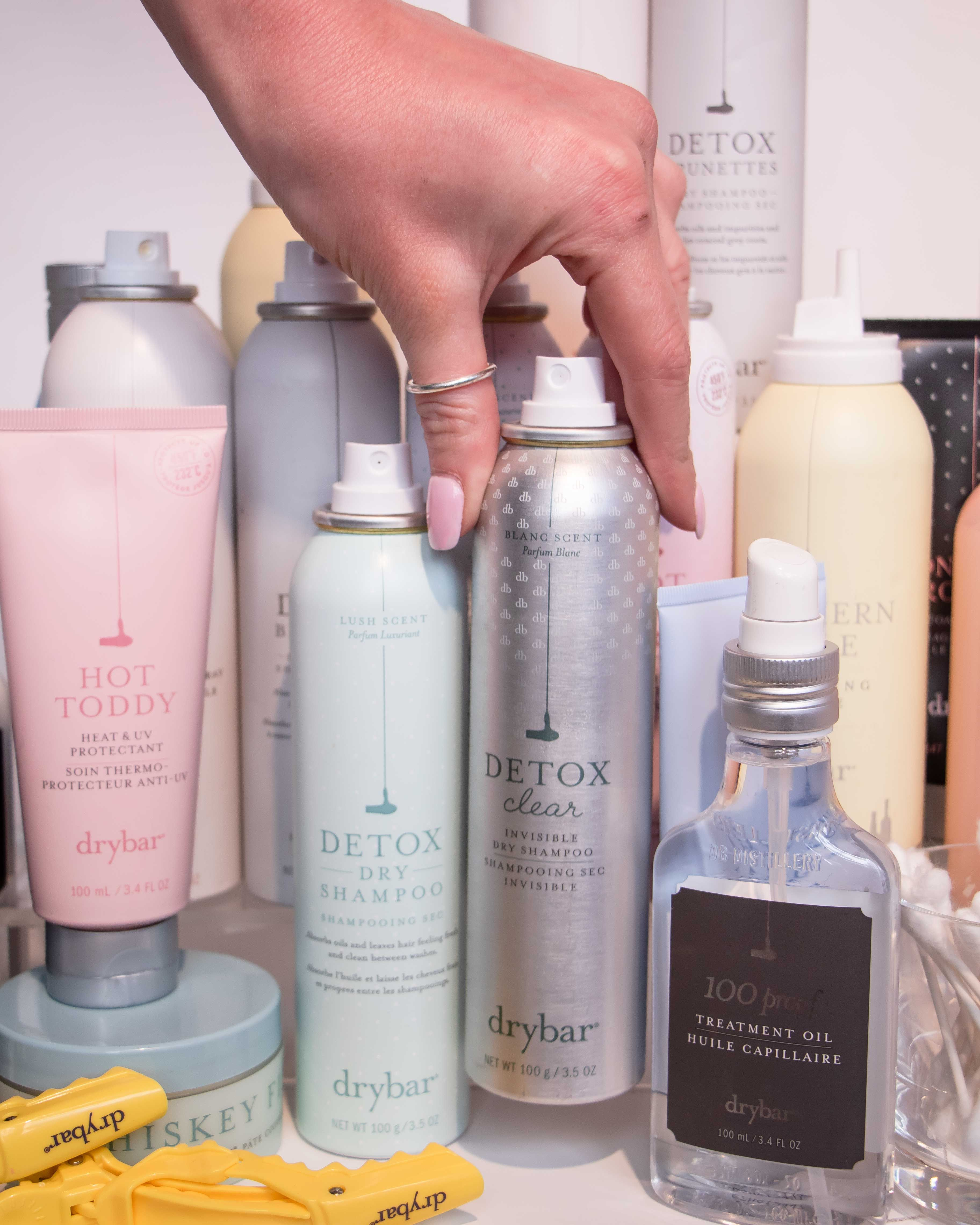 Detox Clear Invisible Dry Shampoo Dry Conditioner Dry Shampoo Hair Care Products Professional