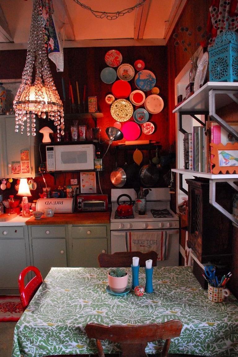 50 best modern bohemian style kitchen design ideas with images bohemian kitchen bohemian on boho chic kitchen diy id=42810