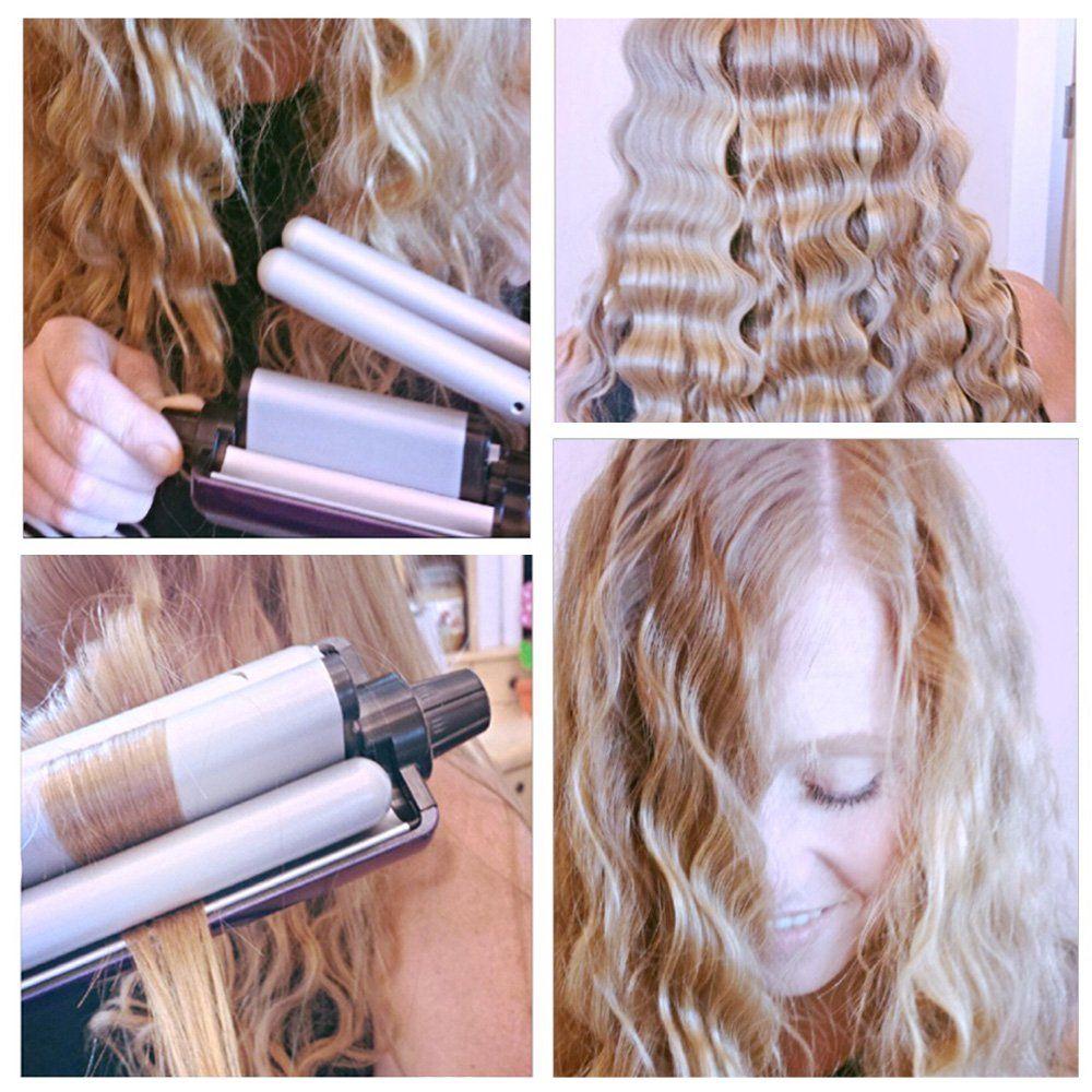 Bed Head Tourmaline Ceramic Multi Hair Waver Purple Walmart Com In 2020 Hair Waver Hair Crimper Hair Waver Iron