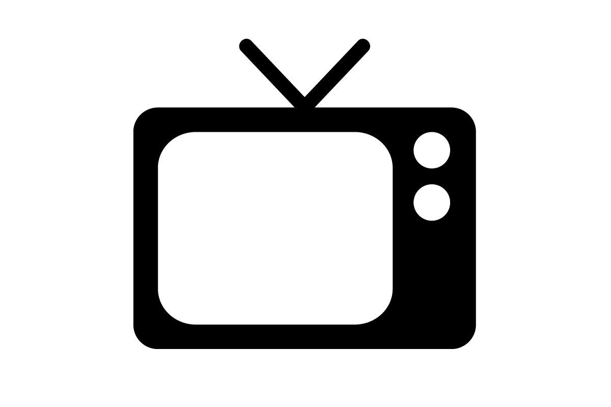 Old Television Png Image Tv Icon Logo Tv Vector Icon Design