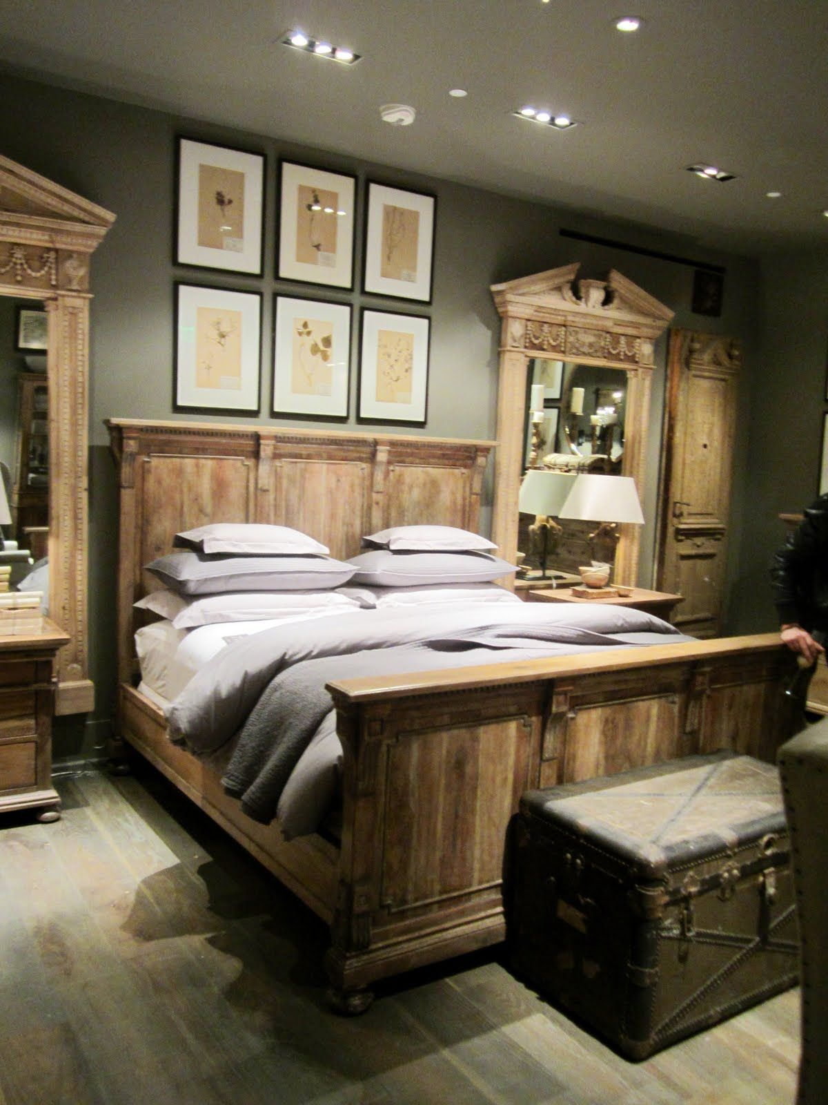 Restoring a great brand the incredible new look of - Restoration hardware bedroom furniture ...