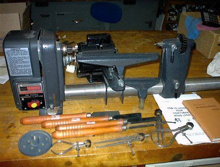 Craftsman Wood Lathe Google Search Wood Work Woodworking Wood