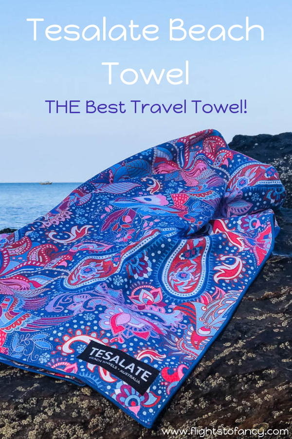 Tesalate Beach Towel Light Compact Quick Drying Perfect For