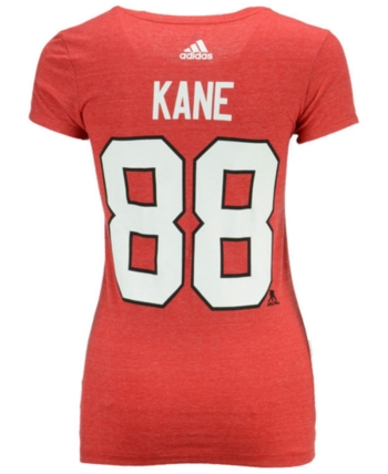 f8036bd40ef adidas Women's Patrick Kane Chicago Blackhawks Player T-Shirt - Red ...