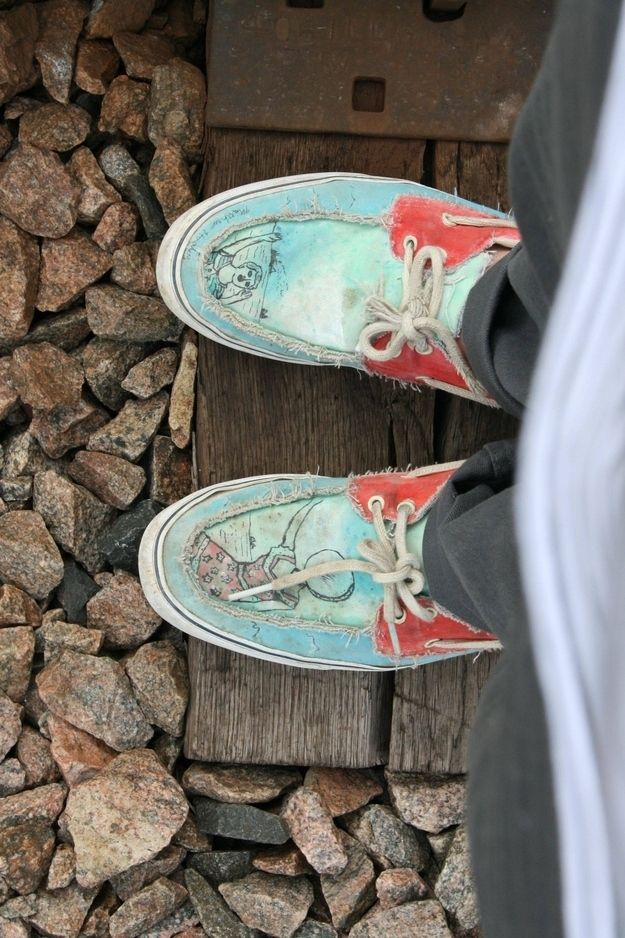 13 Of The Best And Worst Music Inspired Illustrated Shoes ...