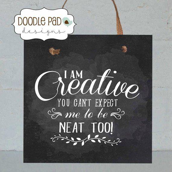 Photo of Craft room Door Sign, Craftroom wall decor, Sewing Room Decor, 8X8″ Wall Art