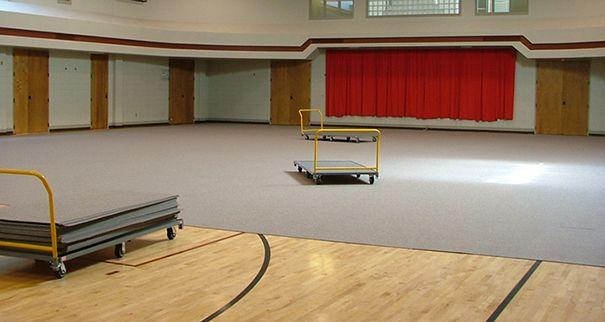 Eventdeck Gym Floor Cover Temporary