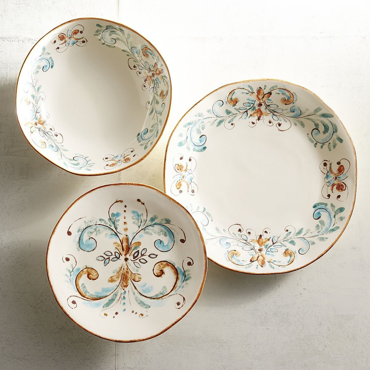 Our site is temporary offline for maintenance.  sc 1 st  Pinterest & Terracina Italian-Made Dinnerware | Pier 1 Imports | Tablescapes ...